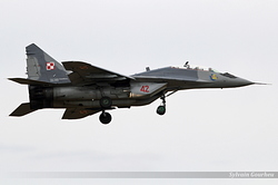 Mikoyan-Gurevich MiG-29UB Poland Air Force 42
