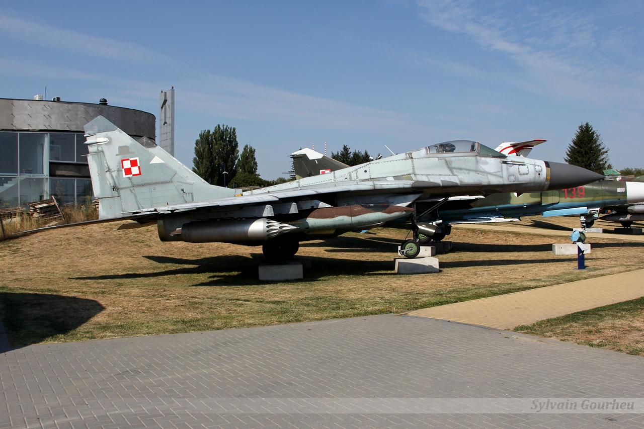 Mikoyan-Gurevich MiG-29G Poland Air Force 4109