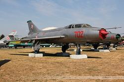 Sukhoi Su-7UM Poland Air Force 702
