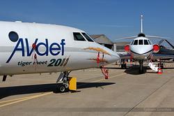 Dassault Falcon 20C AVdef Aviation Defense Service F-GPAD