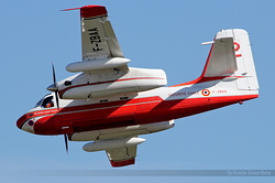 Grumman S-2T Turbo Firecat Sécurité Civile 22 / F-ZBAA