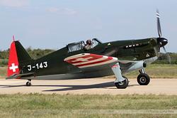 Morane-Saulnier MS.406 J-143 / D-3801