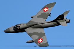 Hawker Hunter Mk.68 J-4201 / HB-RVR