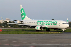 Boeing 737-8K2 Transavia Airlines PH-HZW