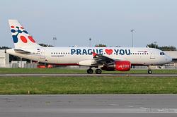 Airbus A320-214 Travel Service OK-HCA