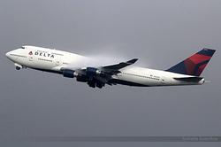 Boeing 747-451 Delta Air Lines N666US