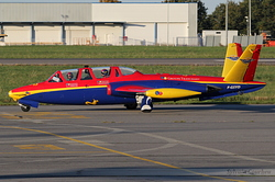 Fouga CM-170 Magister Groupe Tranchant F-GSYD