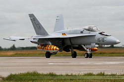 McDonnell Douglas EF-18M Hornet Spain Air Force C.15-31 / 15-18