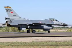 General Dynamics F-16C Night Falcon Turkey Air Force 89-0024