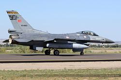 General Dynamics F-16C Night Falcon Turkey Air Force 93-0003