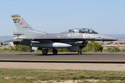 General Dynamics F-16D Night Falcon Turkey Air Force 91-0022