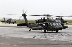 Sikorsky UH-60A Blackhawk US Army 87-24584, 87-24642 & 87-24583