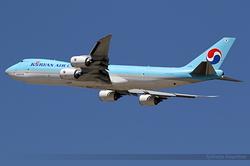 Boeing 747-8HTF Korean Air Lines HL7610