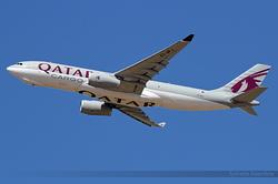 Airbus A330-243F Qatar Airways Cargo A7-AFJ