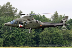 Agusta A-109BA Belgium Air Force H35