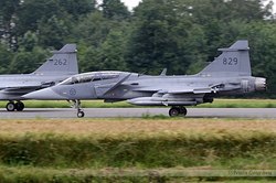 Saab JAS-39D Gripen Sweden Air Force 39829
