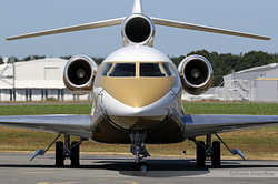 Dassault Falcon 7X Global Jet Luxembourg LX-AMB