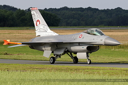 General Dynamics F-16AM Fighting Falcon Denmark Air Force 6F-51 / E-008