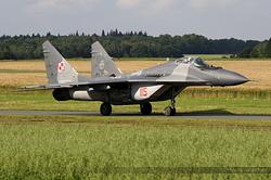Mikoyan-Gurevich MiG-29A Poland Air Force 108