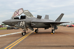 Lockheed Martin F-35B Lightning Royal Air Force ZM137