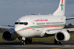 Boeing 737-7B6 Royal Air Maroc CN-RNL