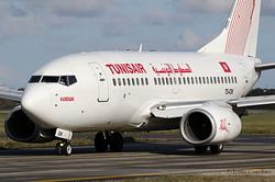 Boeing 737-6H3 Tunisair TS-IOK