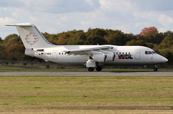 British Aerospace BAe 146-200 WDL Aviation D-AWUE