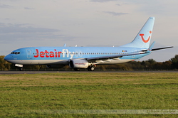 Boeing 737-8K5 Jetairfly OO-JAQ