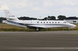 Cessna 680 Citation Sovereign Plus Aerowest Flugcharter D-CAWX