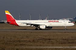Airbus A321-211 Iberia EC-JGS