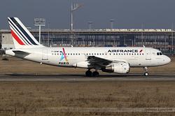 Airbus A319-113 Air France F-GPMF