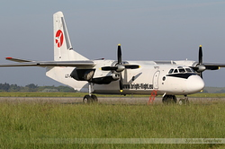 Antonov An-26B Bright Flight LZ-FLL