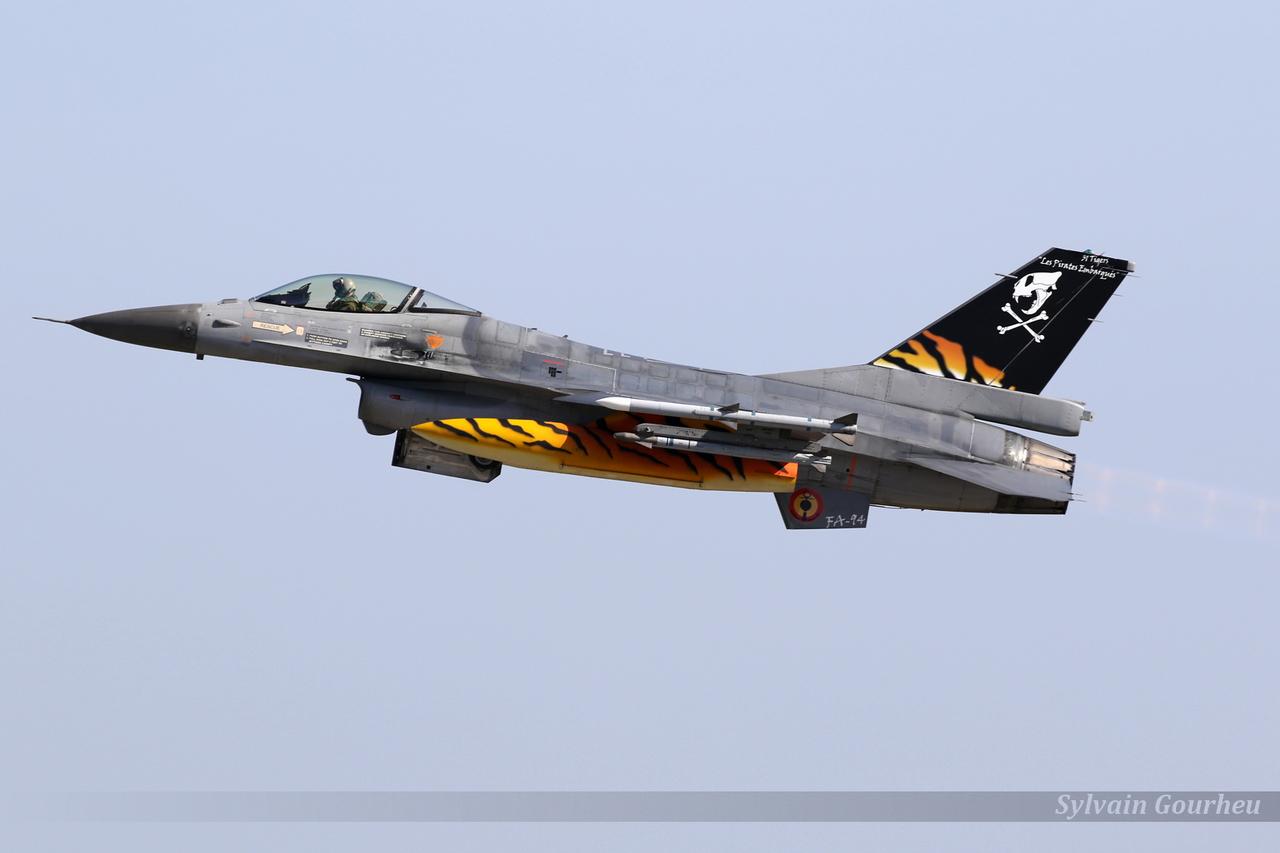 General Dynamics F-16AM Fighting Falcon Belgium Air Force FA-94