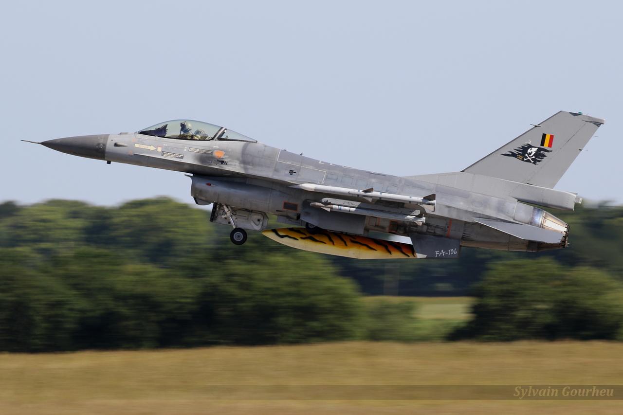 General Dynamics F-16AM Fighting Falcon Belgium Air Force FA-106