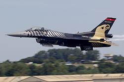 General Dynamics F-16C Night Falcon Turkey Air Force 88-0029