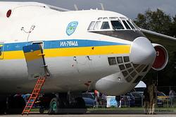 Ilyushin Il-76MD Ukrainian Air Force 76413