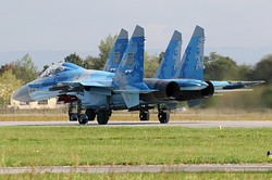 Sukhoi Su-27P Ukrainian Air Force 58 Blue & 67 Blue