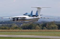 Ilyushin Il-76MD Ukrainian Air Force 76413 & Sukhoi Su-27 Ukrainian Air Force 58 Blue