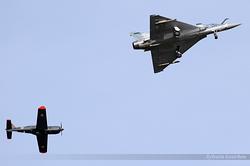Dassault Mirage 2000-5F Armée de l'Air 41 / 2-FZ & Socata TB-30 Epsilon Armée de l'Air 118 / 315YI