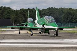 British Aerospace Hawk Mk.65A Royal Saudi Air Force 8817 & 8819