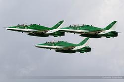 British Aerospace Hawk Mk.65A Royal Saudi Air Force 8817, 8807 & 8808