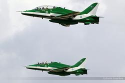 British Aerospace Hawk Mk.65A Royal Saudi Air Force 8820 & 8811