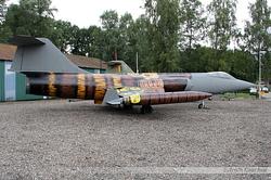 Lockheed F-104G Starfighter Belgium Air Force FA-25
