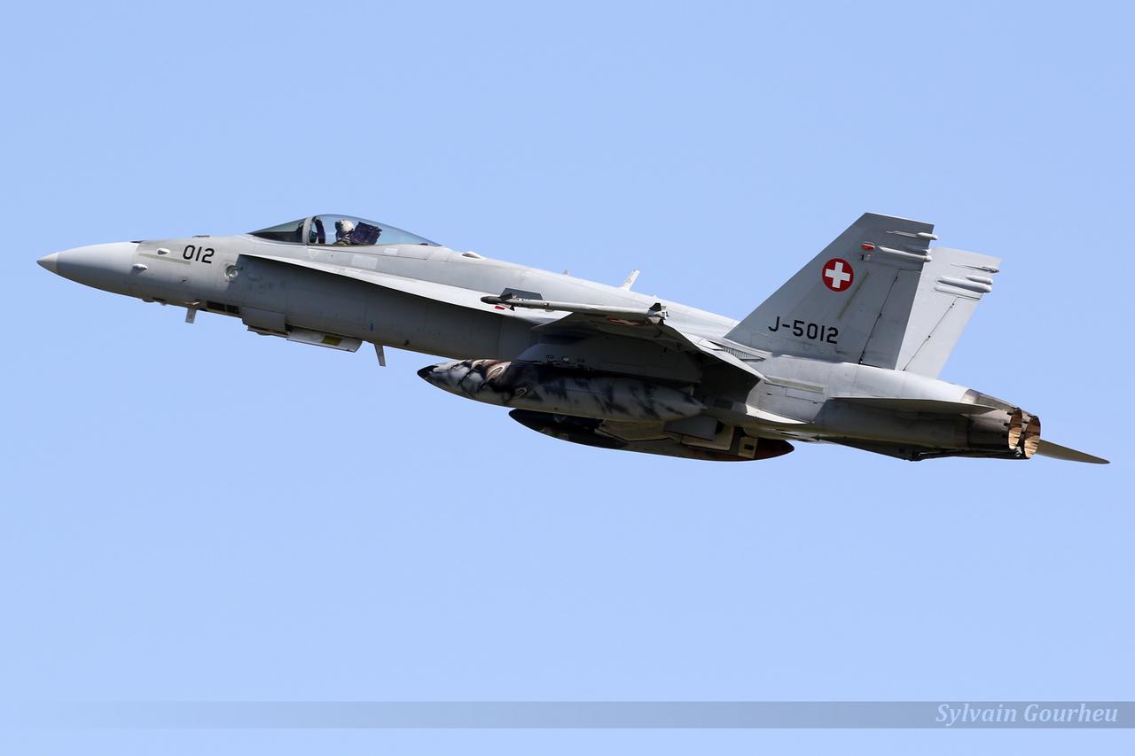 McDonnell Douglas F/A-18C Hornet Switzerland Air Force J-5012