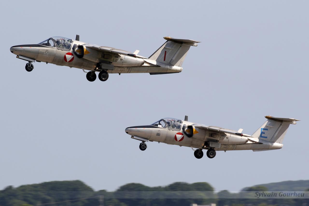Saab 105OE Austria Air Force 1129 / I & 1135 / E