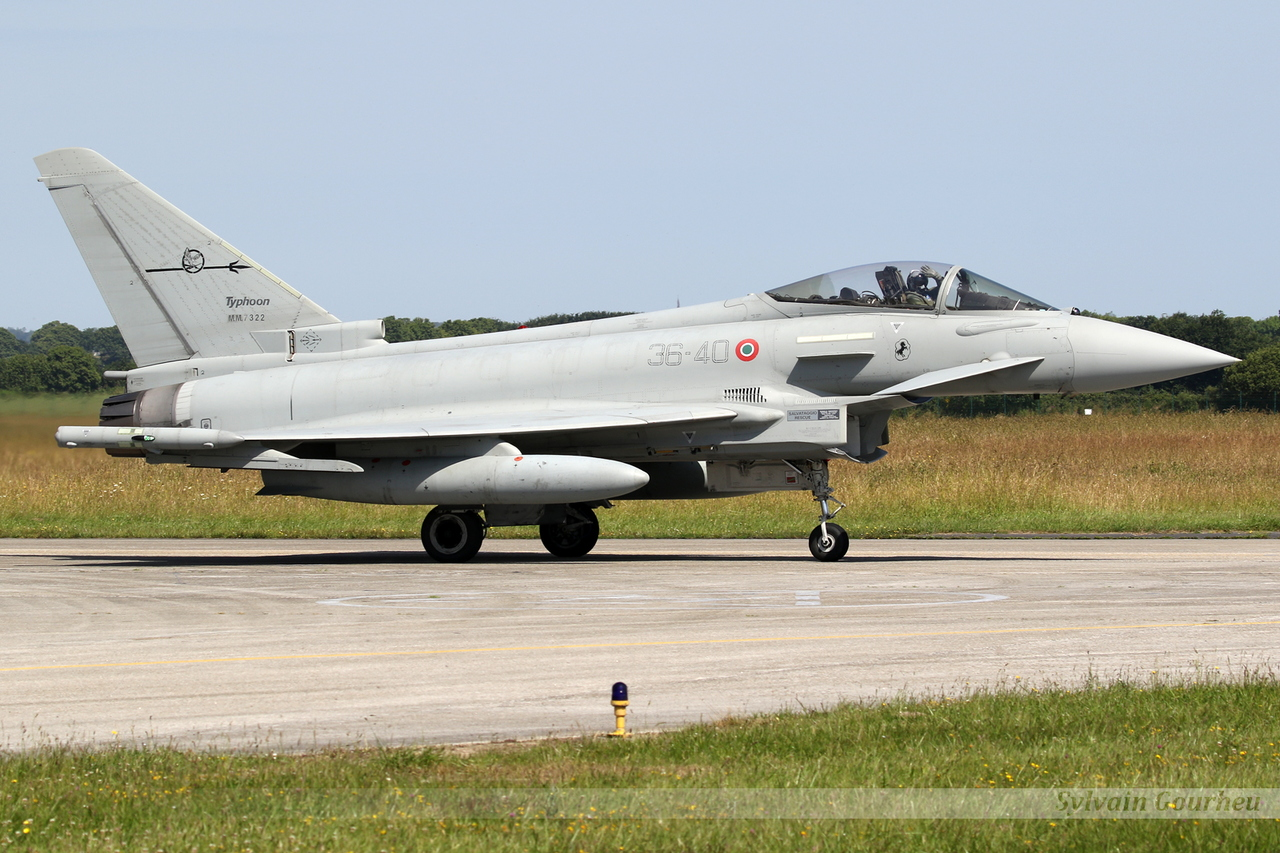 Eurofighter EF-2000 Typhoon Italy Air Force MM7322 / 36-40