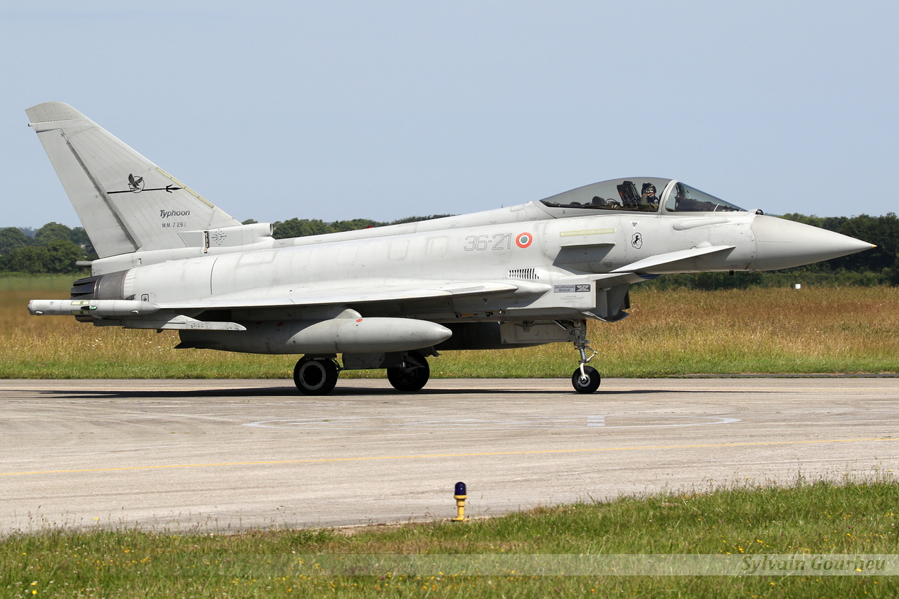 Eurofighter EF-2000 Typhoon Italy Air Force MM7292 / 36-21