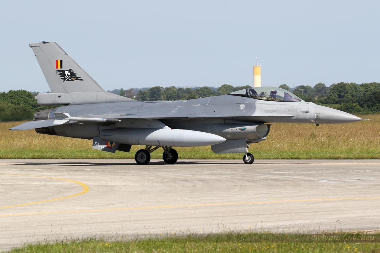 General Dynamics F-16AM Fighting Falcon Belgium Air Force FA-69