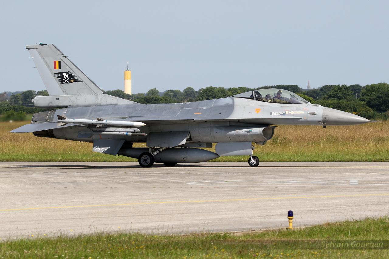 General Dynamics F-16AM Fighting Falcon Belgium Air Force FA-107
