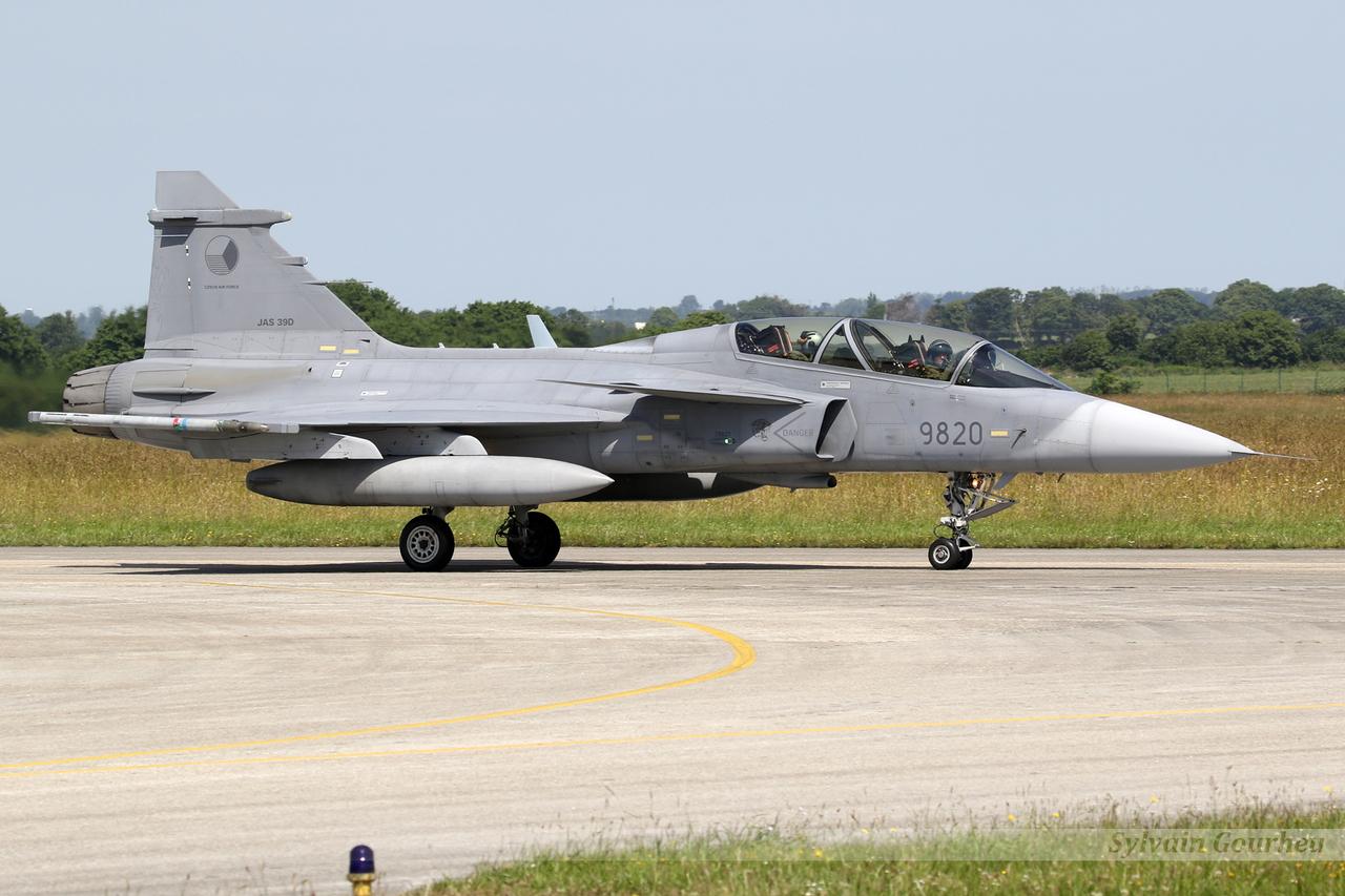 Saab JAS-39D Gripen Czech Republic Air Force 9820